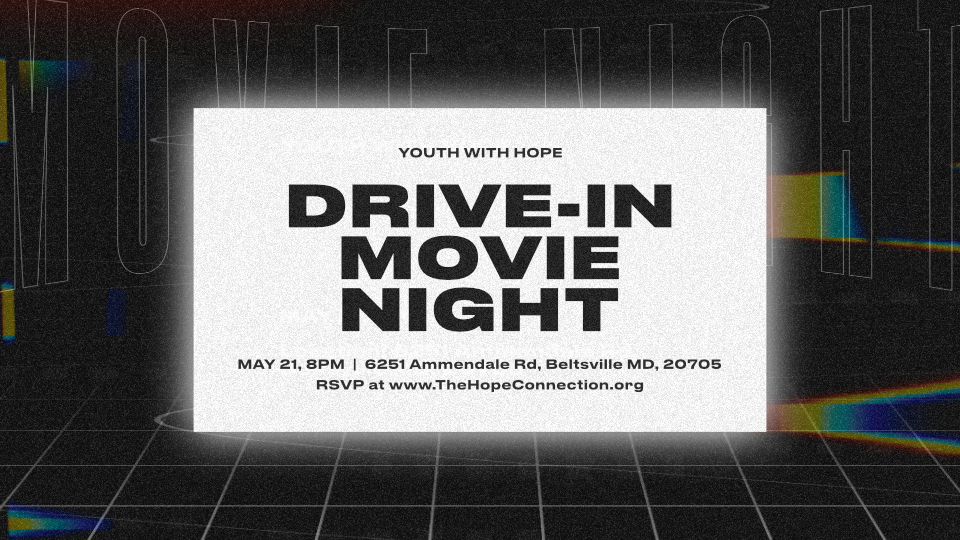 Youth with Hope Drive-in Movie Night